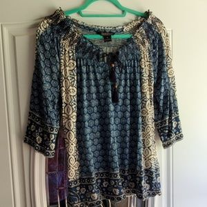 Lucky Brand Tunic Size M